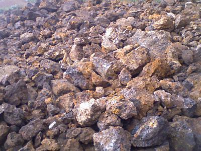 生产的铁矿石