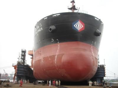新建造的亚搏体育官方下载5号货轮下水