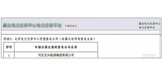 冀北电力交易中心交易平台
